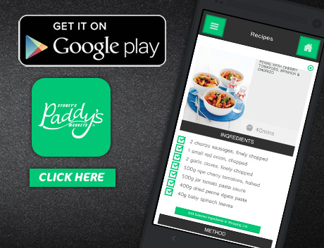 Download Paddy's App from Google Play