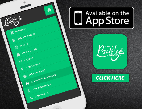 Download Paddy's App from App Store