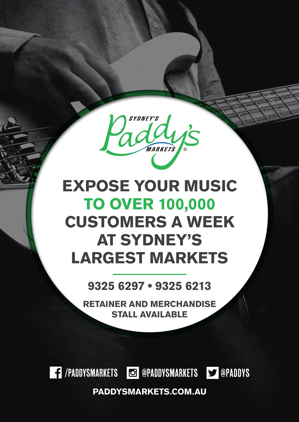 Expose your music to over 100,000 Customers a week